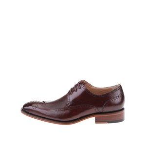 Dice, Pantofi Oxford din piele Dice Harris – vișiniu