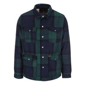Element, Jachetă de iarnă verde, cadrilată, de la Element Belton