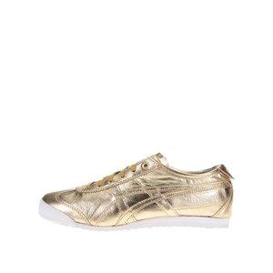 Pantofi sport de damă din piele Onitsuka Tiger Mexico 66 – auriu