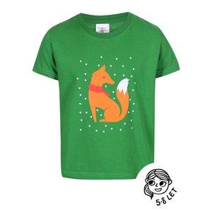ZOOT Kids, Tricou ZOOT Kids verde cu print pentru fete