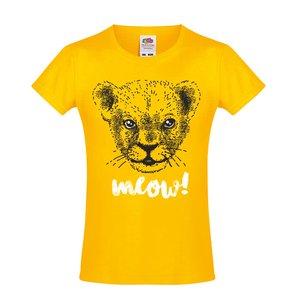 Tricou ZOOT Kids galben cu model pentru fete