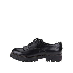 Pantofi Oxford de damă cu talpă groasă Bugatti Iva – negri