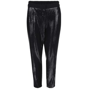 Closet, Pantaloni negri, cu paiete, de la Closet