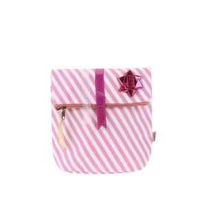 Portfard roz-alb cu stea Disaster