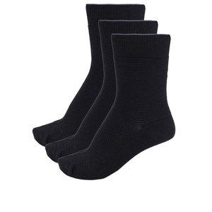 Set de trei perechi de șosete negre Selected Homme de la Zoot.ro