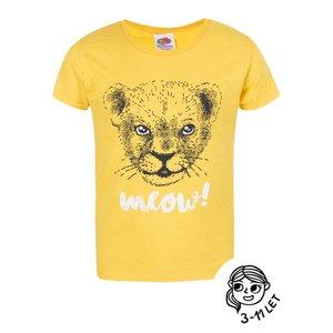 Tricou galben ZOOT Kids pentru fete