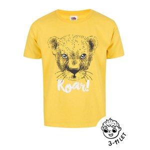 Tricou ZOOT Kids galben pentru băieți cu print