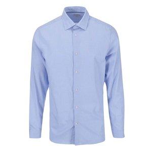 Selected Homme Jim Light Blue Patterned Pocket Shirt