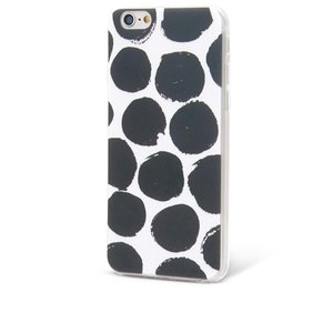 Husă alb cu negru Epico Dotsie pentru iPhone 6/6s la pretul de 56.99