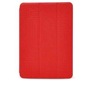 Husă Epico Hoco Cube roșie, din piele pentru iPad Mini 2 Retina