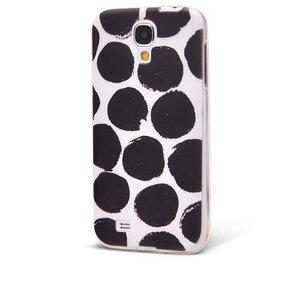 Carcasă Epico elastică cu buline negre pentru Samsung Galaxy S4 mini