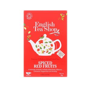 Ceai Din Fructe Rosii Condimentate Organice English Tea Shop