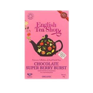 Ceai Din Ciocolata Si Fructe De Padure Organic English Tea Shop