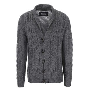 ONLY & SONS, Cardigan gri închis Brody de la ONLY & SONS