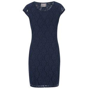 Rochie albastră din dantelă Vero Moda Lilly