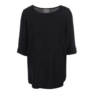 Bluză neagră cu mânecă trei sferturi Vero Moda Boca la pretul de 91.99