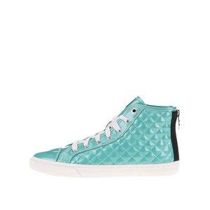 GEOX, Pantofi sport de damă tip gheată turcoaz GEOX New Club