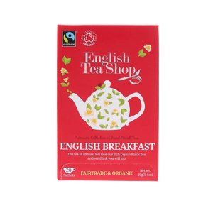 Ceai organic English Breakfast de la English Tea Shop