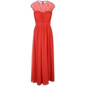 Rochie roșie lungă cu mânecă scurtă Little Mistress la pretul de 240.0