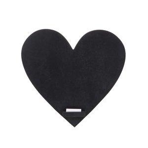 Sass & Belle, Tablă neagră pentru scris în formă de inimă de la Sass & Belle