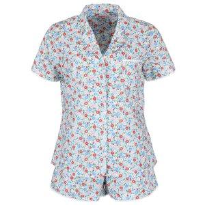 Pijamale de damă albastru deschis cu flori CATH KIDSTON