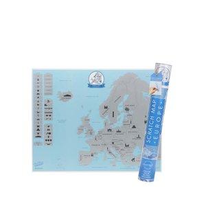 Harta răzuibilă a Europei Luckies