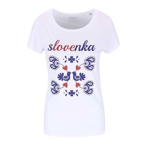 Tricou De Dama Zoot Originál Slovak Girl Alb