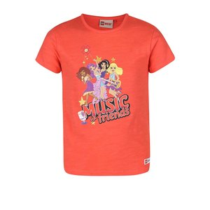 Tricou Lego Wear Tamara pentru fete portocaliu