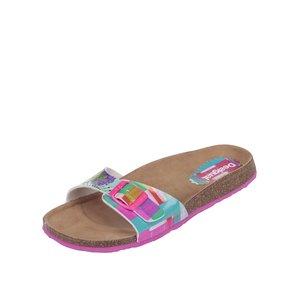 Desigual, Papuci Desigual multicolori