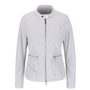 Jachetă de damă Geox impermeabilă – gri deschis la pretul de 469.99