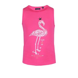 Maieu Blue Seven roz cu pasăre flamingo