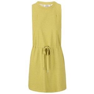Rochie tricotată Cheap Monday Fuel, de culoare galben-verzuie