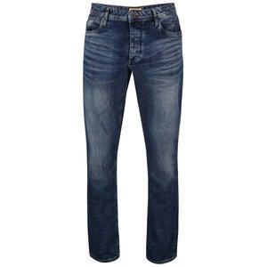 Jack & Jones, Jeanși albaștri cu aspect prespălat Jack&Jones Clark