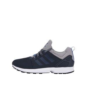 adidas Originals, Pantofi sport bărbătești adidas Originals ZX Flux NPS UPDT gri-albaștri