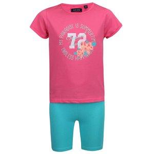 Tricou și pantaloni Blue Seven de fete