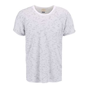 Selected, Tricou cu dungi Selected Homme Lane crem