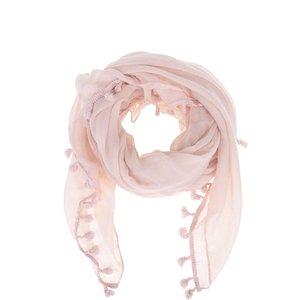 Eșarfă Zabaione Zottel roz-pal