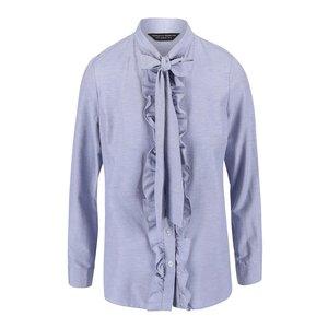 Dorothy Perkins, Bluză Dorothy Perkins albastră, cu fundă