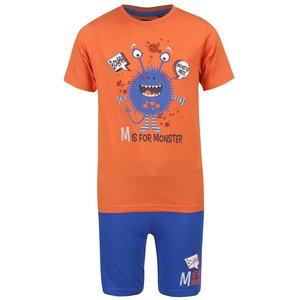 Set pantaloni scurți și tricou Blue Seven pentru băieți