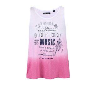 Maiou roz-alb Blue Seven pentru fete