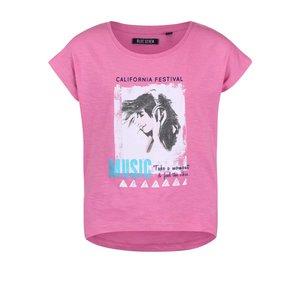 Blue Seven, Tricou roz Blue Seven pentru fete