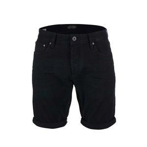 Pantaloni scurți Jack & Jones Rick din denim negru
