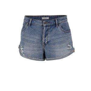 Roxy, Pantaloni scurți Roxy Biker din denim albastru