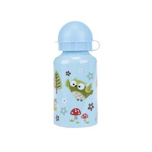 Sass & Belle, Sticlă albastră Sass & Belle Spring Forest cu model natură