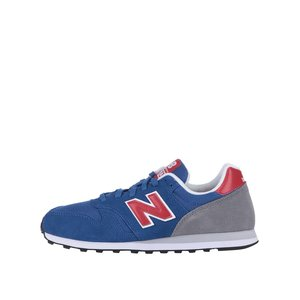 Pantofi sport bărbătești New Balance roșii-albaștri