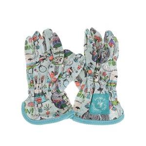 Mânuși de grădinărit Thoughtful Gardener Kids turcoaz de la Zoot.ro