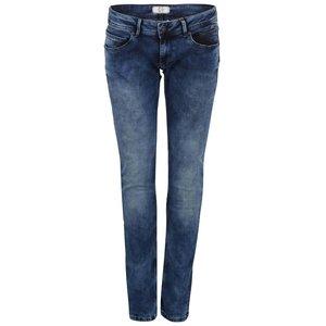 Blugi Pepe Jeans Ariel albaștri cu talie joasă