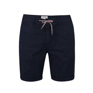 Pantaloni Scurti Blend Navy  Cu Siret Colorat