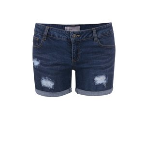 Pantaloni scurți Vero Moda Be Five din denim, albaștri