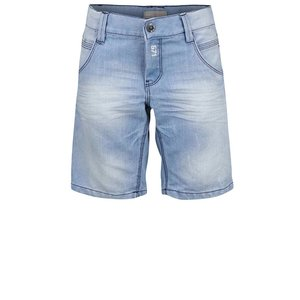 Pantaloni scurți Name It Ralfbay albastru deschis, din denim